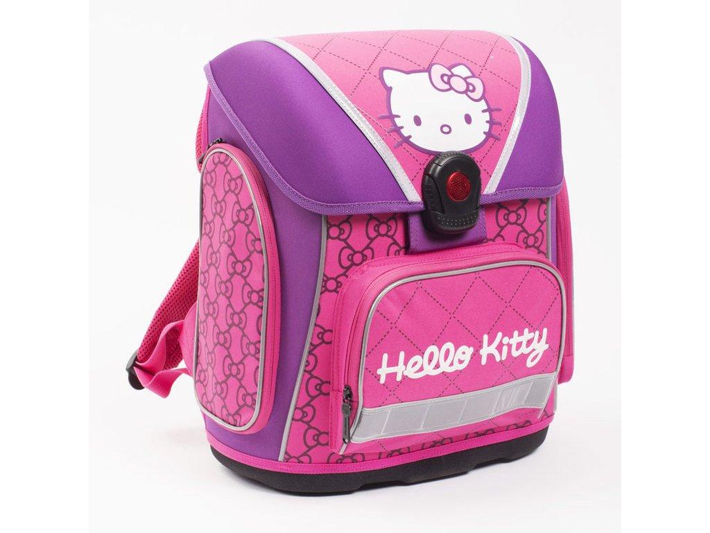 Anatomický batoh PREMIUM - Hello Kitty KIDS + LED svítilna ... 488fdd3f65