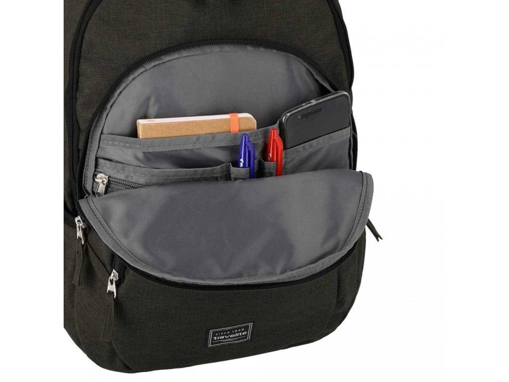 Travelite Basics Backpack Melange Brown