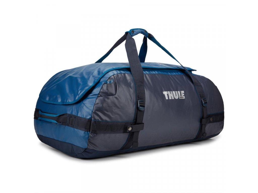Thule cestovní taška Chasm XL 130 L TDSD205P - modrá  + LED svítilna
