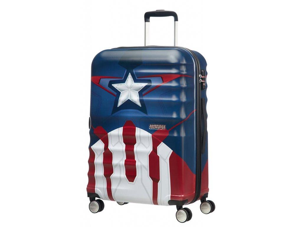 American Tourister WAVEBREAKER 4w M 67cm Captain Amerika