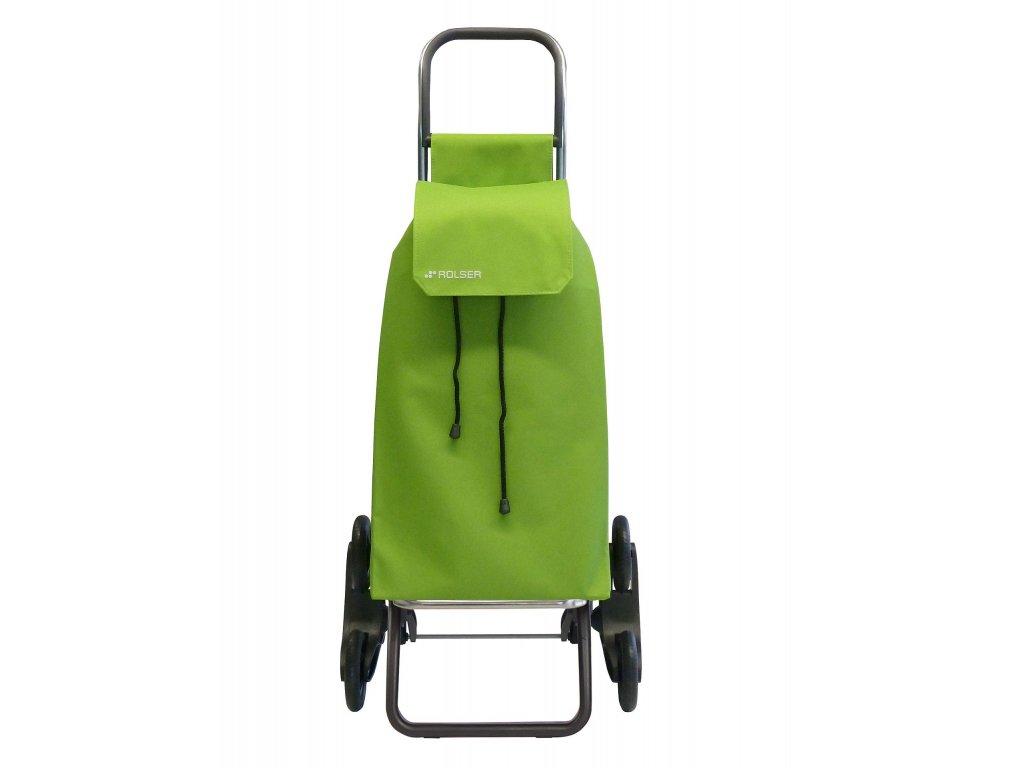 Rolser Saquet LN Rd6 nákupní taška s kolečky do schodů, limetková