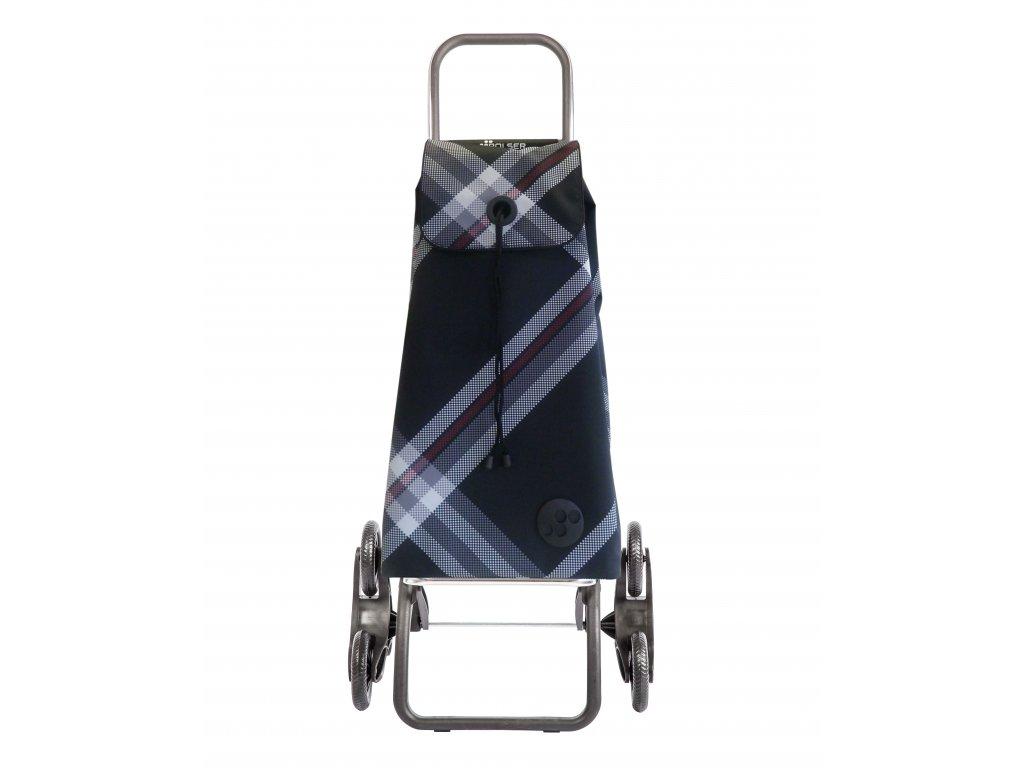 Rolser I-Max Bora Rd6 nákupní taška s kolečky do schodů, černá
