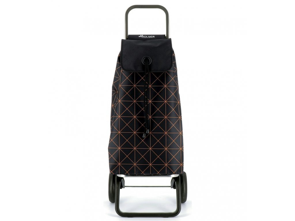 Rolser I-Max Star RG nákupní taška na kolečkách, černo-oranžová