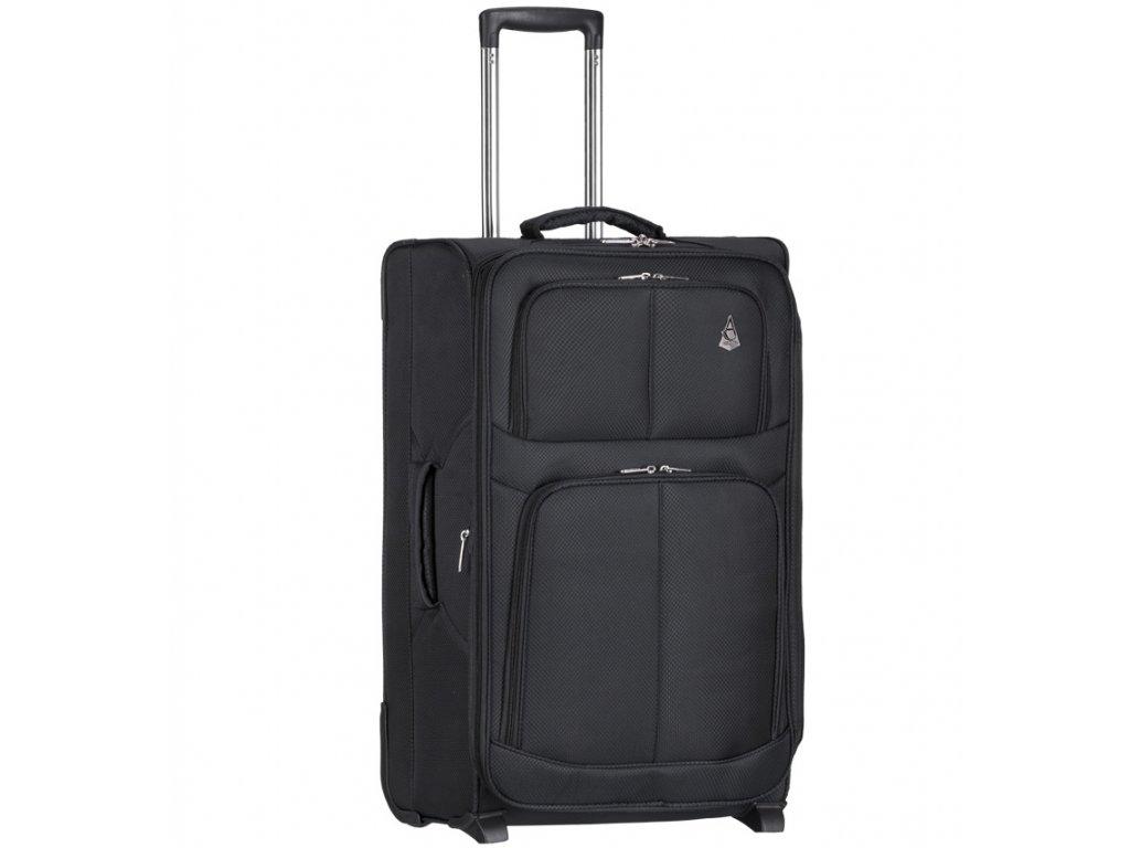 Kabinové zavazadlo AEROLITE T-9613/3-S - černá  + Sluchátka, myš nebo pouzdro