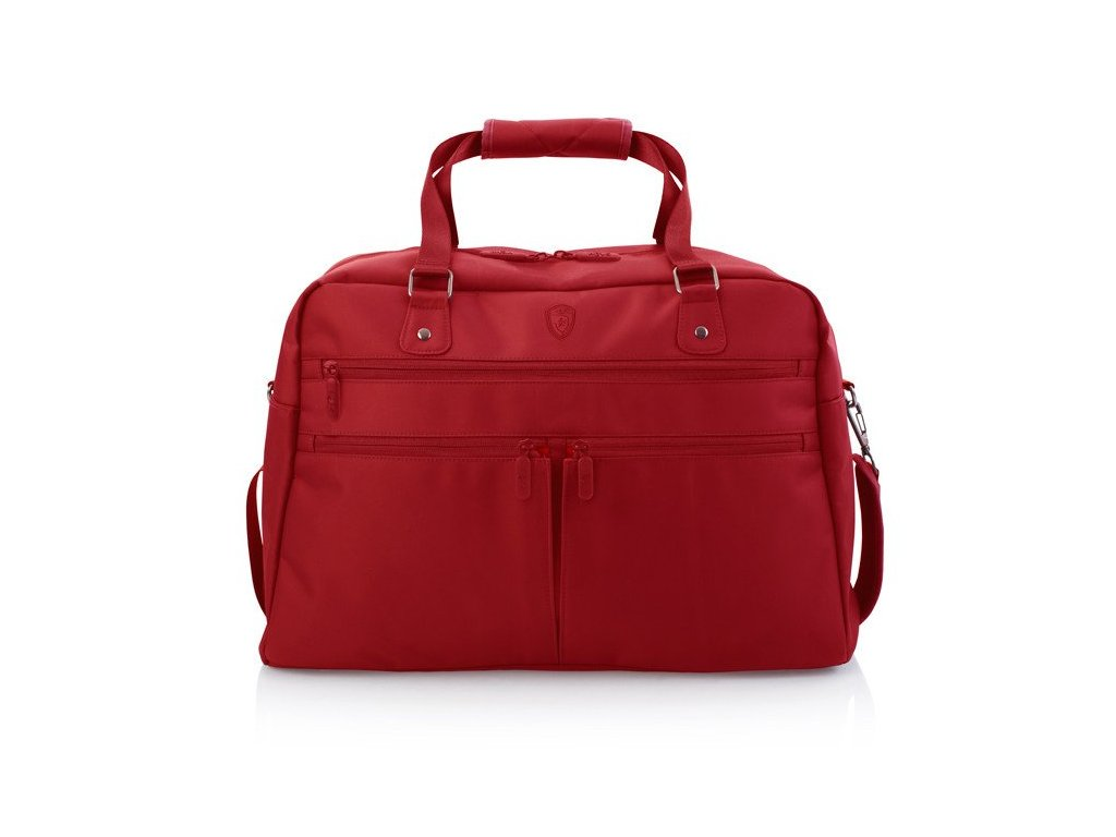 Heys HiLite Multi-Zip Boarding Duffel Red  + LED svítilna