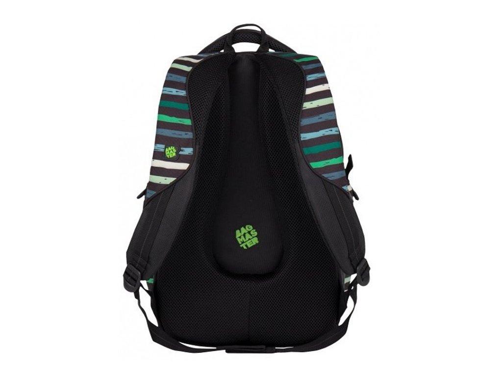 1ef1508ce42 Bagmaster BAG 7 CH BLACK GREEN + LED svítilna - Světbatohů.cz
