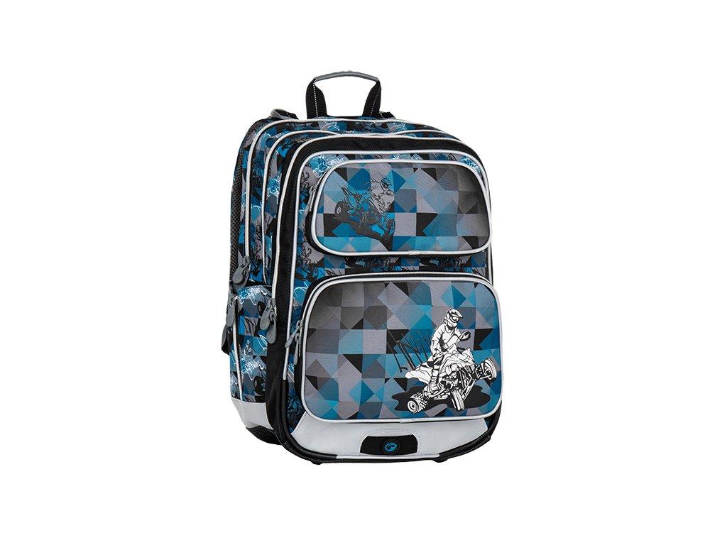 Modré školní batohy pro kluky - Světbatohů.cz a558182cb3