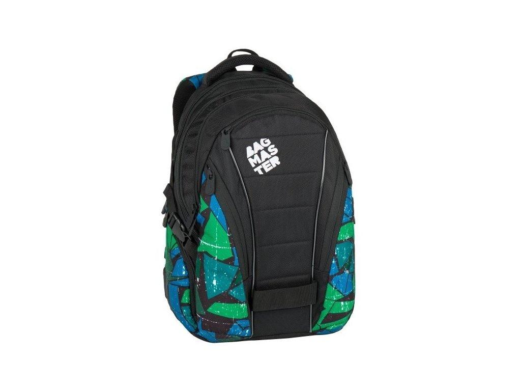 344d89450cf Bagmaster BAG 7 F BLACK GREEN BLUE + LED svítilna 3W - Světbatohů.cz