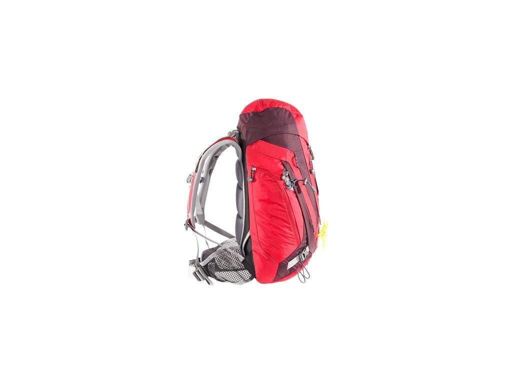 ... Deuter ACT Trail 28 SL fire-aubergine - Batoh + LED svítilna ... a1235ac77f