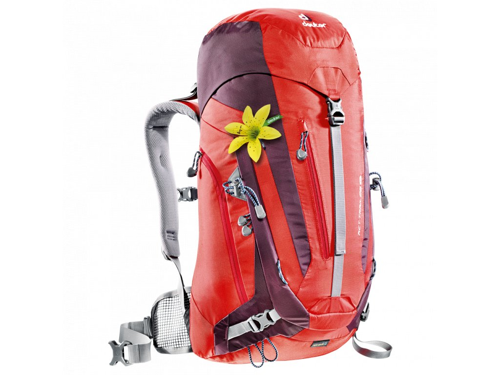 Deuter ACT Trail 28 SL fire-aubergine - Batoh + LED svítilna ... 1ab375c5c3