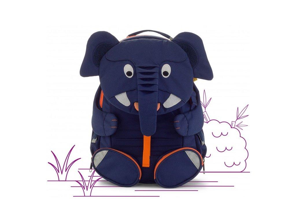 Affenzahn dětský batoh do školky Slon Elias