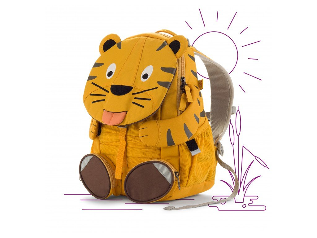 de6ee4058cb ZdarmaZdarma. Affenzahn dětský batoh do školky Tygr Theo · Affenzahn dětský  batoh do školky ...