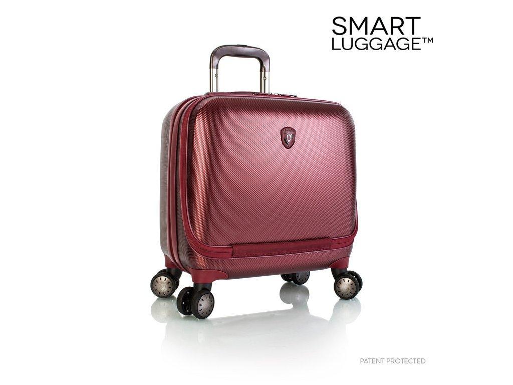 Heys Portal SmartBusiness Case Burgundy  + LED svítilna