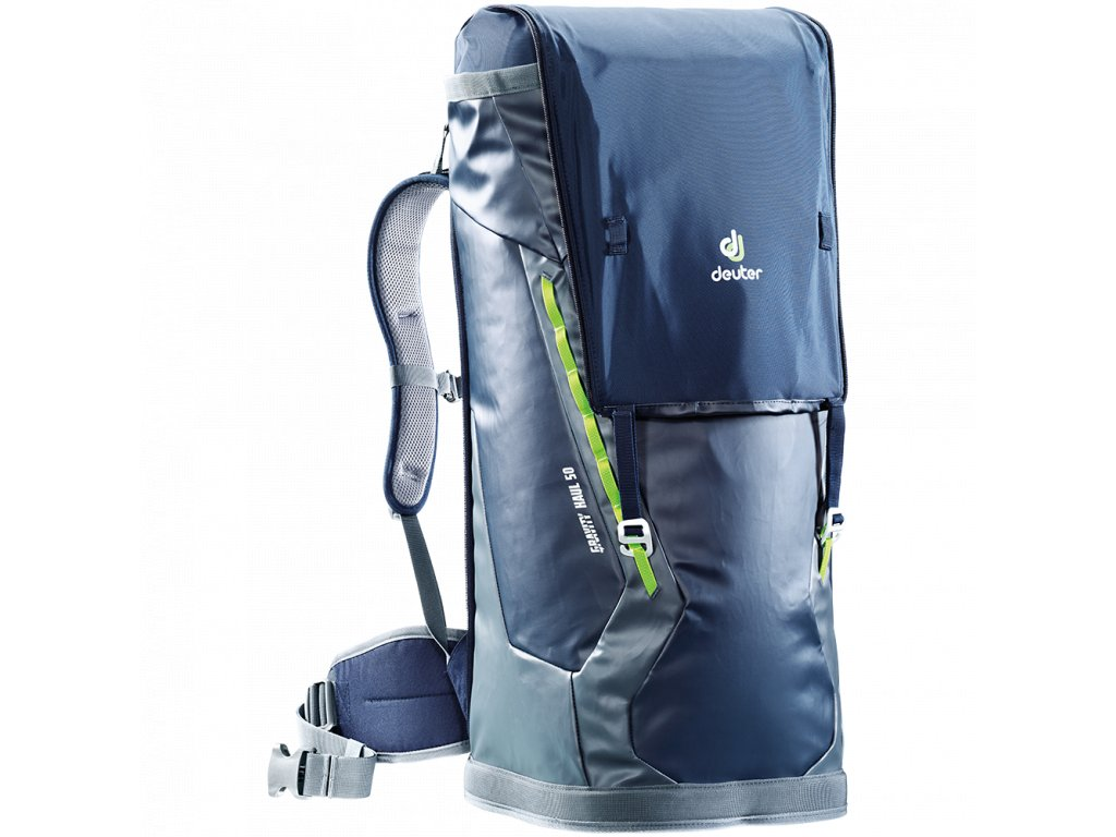 Deuter Gravity Haul 50 Navy-granite - Batoh + LED svítilna ... 14d3134552