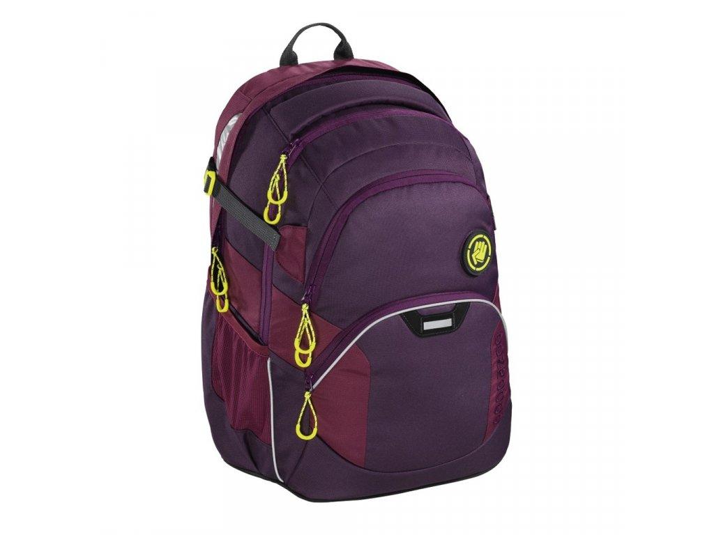 Školní batoh Coocazoo JobJobber2, Solid Berryman  + LED svítilna