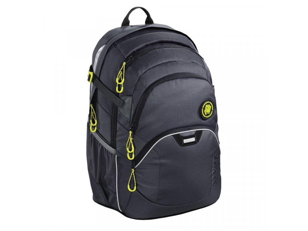 Školní batoh Coocazoo JobJobber2, Solid Shadowman  + 5 % sleva po registraci + LED svítilna