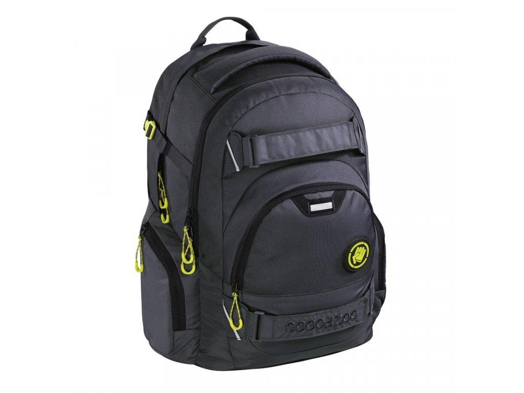 Školní batoh Coocazoo CarryLarry2, Solid Shadowman  + LED svítilna