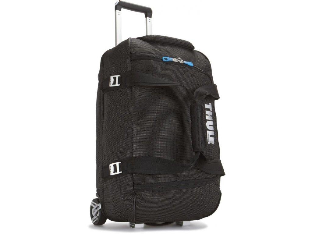 Thule Crossover 56L pojízdná cestovní taška TCRD1 - černá  + LED svítilna + 5 % sleva po registraci