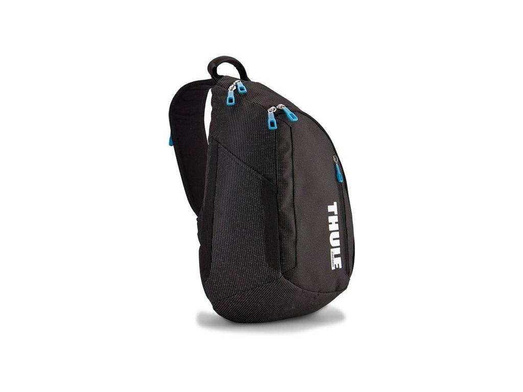 Thule Crossover jednoramenný batoh 14l TCSP313K - černý  + 5 % sleva po registraci + LED svítilna