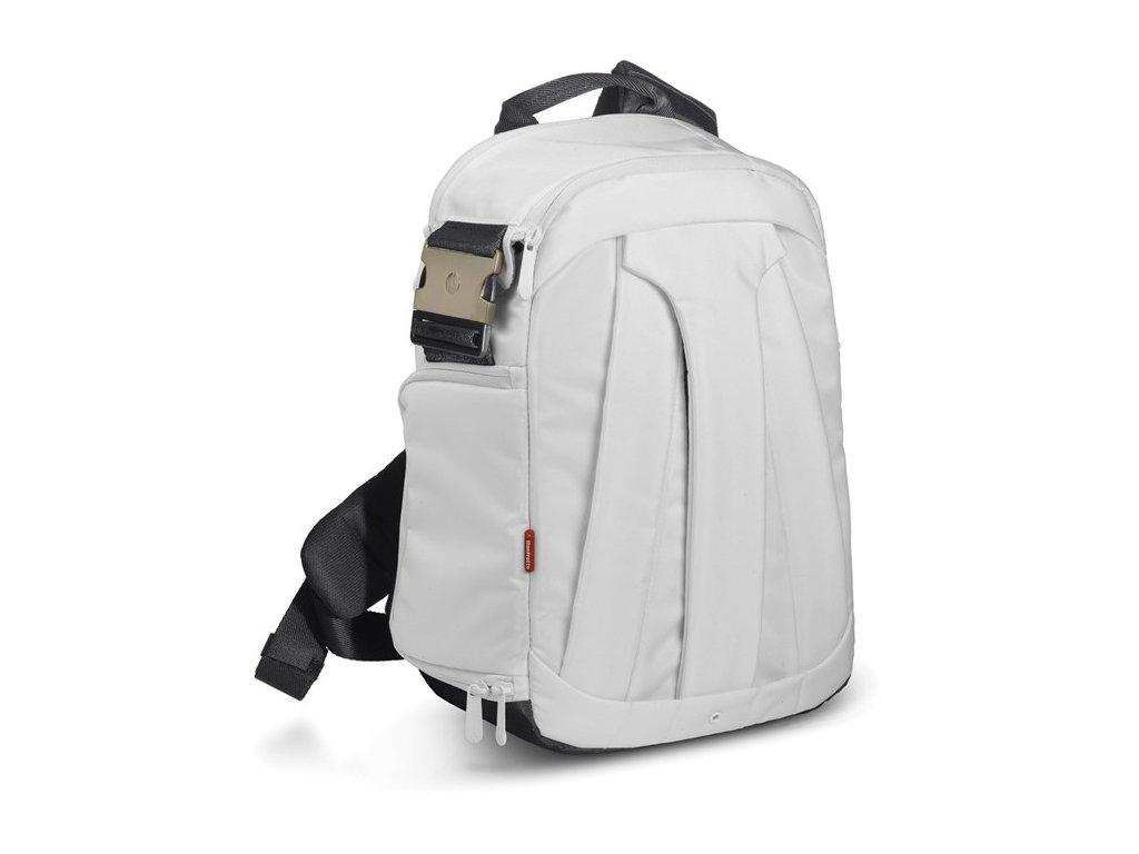 Manfrotto STILE SS390-5SW AGILE,''SLING BAG'' batoh s jedním popruhem řady 5, bílá  + LED svítilna