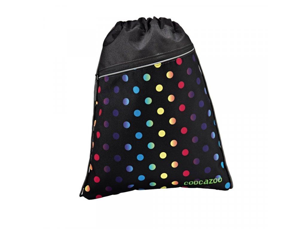 Sportovní pytel na záda CoocaZoo RocketPocket, Magic Polka Colorful