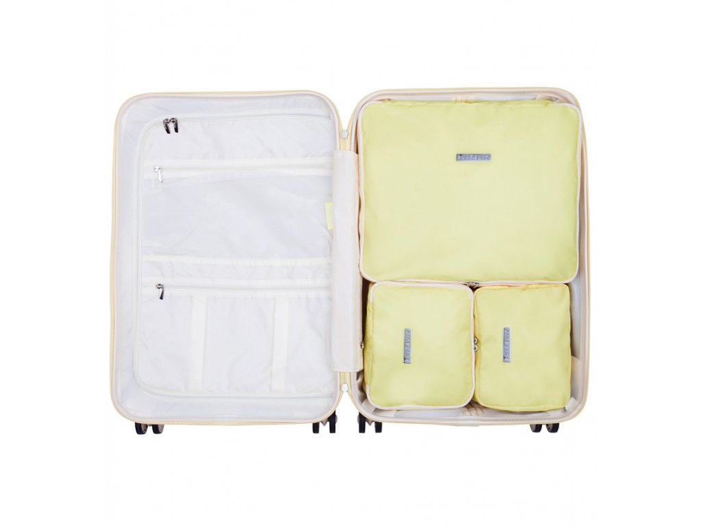 Sada obalů SUITSUIT® Perfect Packing system vel. M Mango Cream