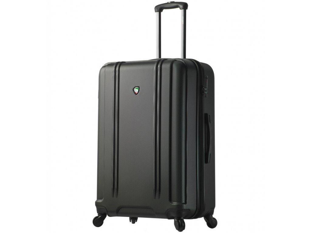 Cestovní kufr MIA TORO M1210/3-L - černá  + LED svítilna