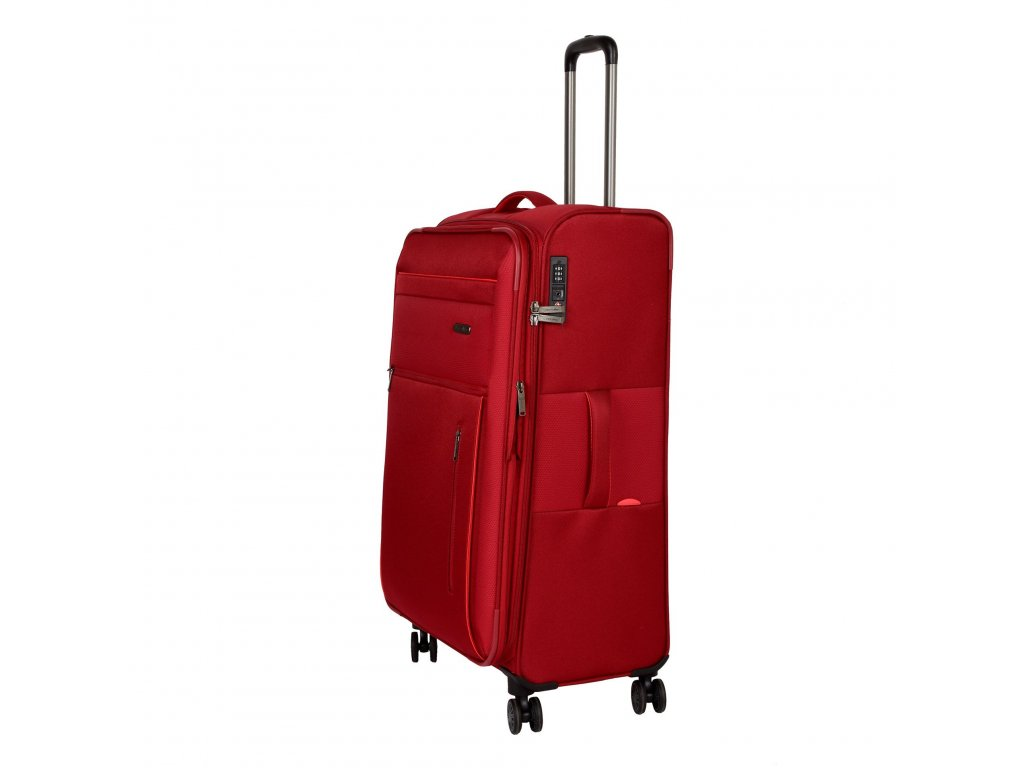 Travelite Capri 4w L Red  + LED svítilna