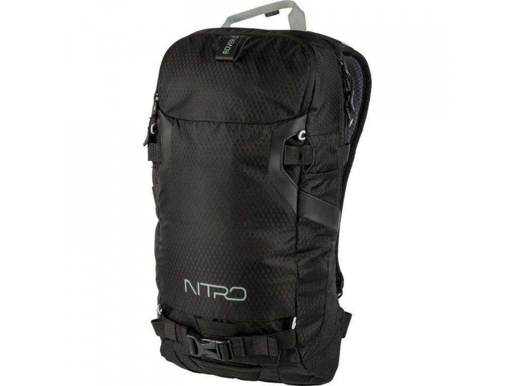NITRO batoh ROVER 14 JET black  + LED svítilna