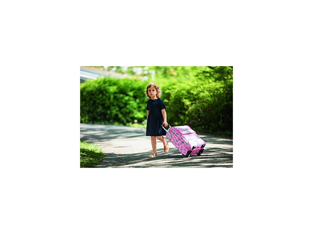 445a86b537863 Reisenthel Trolley XS Kids Cactus pink + LED svítilna - Světbatohů.cz