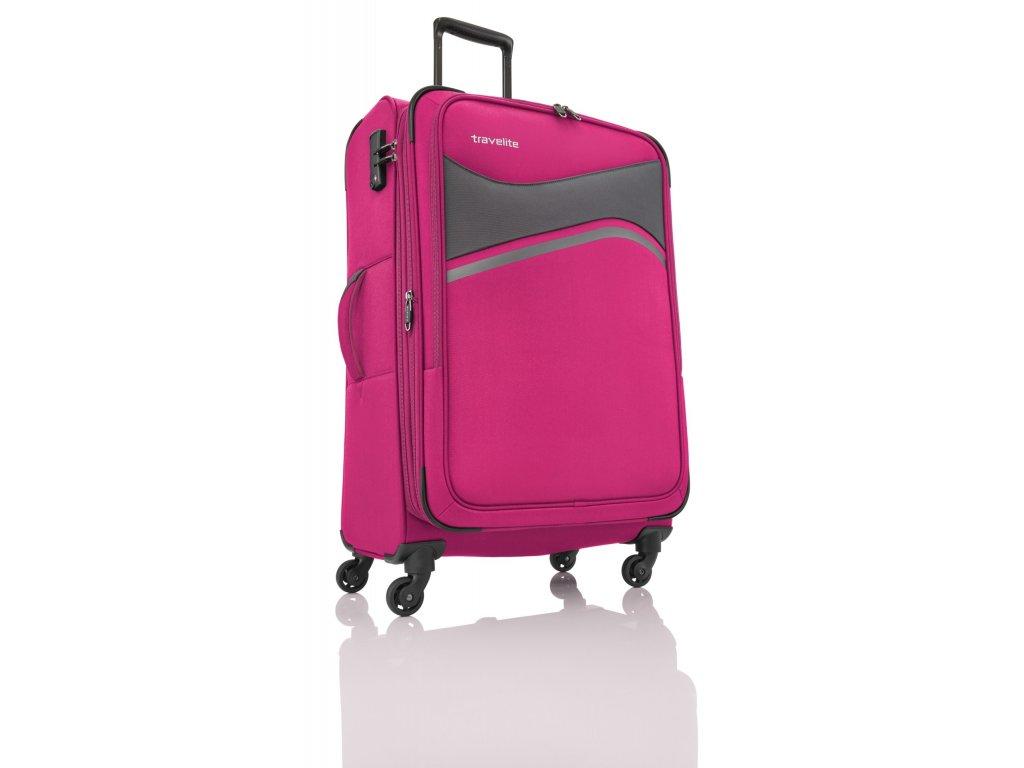 Travelite Wave 4w L Pink  + LED svítilna