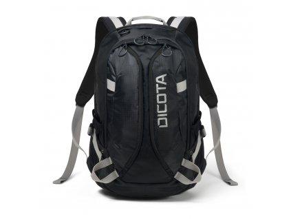 Dicota Backpack Active 14-15.6 black/black  + LED svítilna