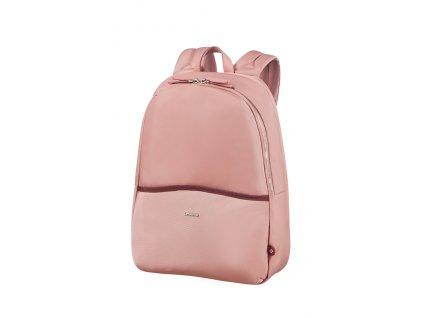 """Samsonite Nefti Backpack 14,1"""" Old Rose/Burgundy  + Sluchátka, myš nebo pouzdro"""
