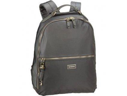 """Samsonite Karissa Biz Backpack 14,1"""" Gunmet. Green  + Sluchátka, myš nebo pouzdro"""