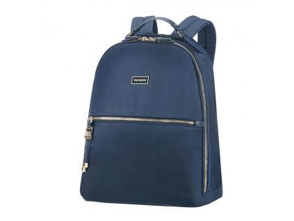"Samsonite Karissa Biz Backpack 14,1"" Dark Navy  + LED svítilna"
