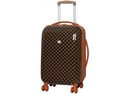 Kabinové zavazadlo MEMBER'S TR-0184/3-S ABS - hnědá  + Sluchátka, myš nebo pouzdro