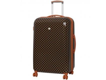 Cestovní kufr MEMBER'S TR-0184/3-L ABS - hnědá  + Sluchátka, myš nebo pouzdro