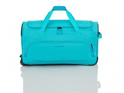 Travelite Basics Fresh Wheeled Duffle Turquoise