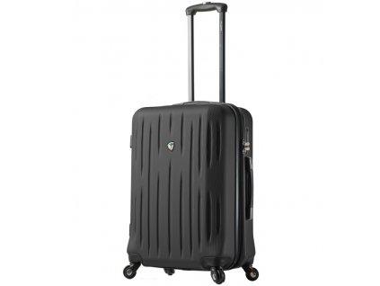 Cestovní kufr MIA TORO M1212/3-L - černá  + LED svítilna