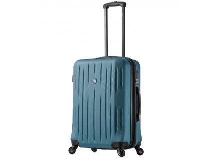 Cestovní kufr MIA TORO M1212/3-L - zelená  + LED svítilna