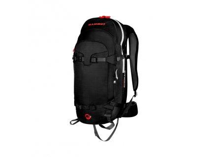 Mammut Pro Protection Airbag 3.0 black 0001  + LED čelová svítilna