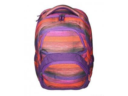 Studentský batoh SPIRIT FREEDOM 09 oranžová  + Sluchátka, myš nebo pouzdro