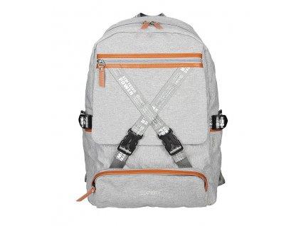 Volnočasový batoh SPIRIT TEENAGER 01 šedá