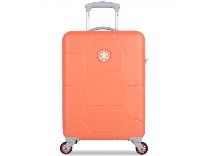 Kabinové zavazadlo SUITSUIT® TR-1246/3-S ABS Caretta Melon  + LED svítilna