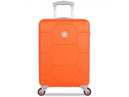 Kabinové zavazadlo SUITSUIT® TR-1249/3-S ABS Caretta Vibrant Orange  + LED svítilna