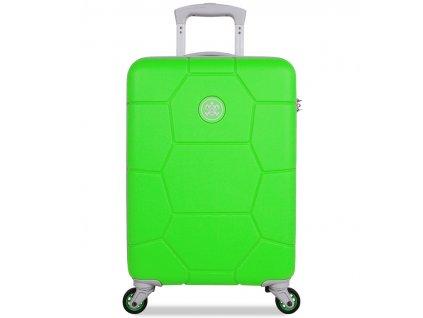 Kabinové zavazadlo SUITSUIT® TR-1251/3-S ABS Caretta Active Green  + LED svítilna