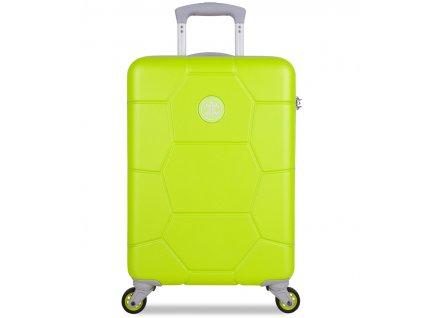 Kabinové zavazadlo SUITSUIT® TR-1252/3-S ABS Caretta Sparkling Yellow  + Sluchátka, myš nebo pouzdro
