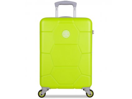 Kabinové zavazadlo SUITSUIT® TR-1252/3-S ABS Caretta Sparkling Yellow  + LED svítilna