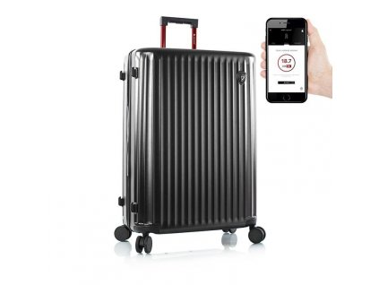 Heys Smart Luggage Airline Aproved L Black