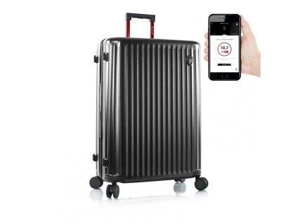 Heys Smart Luggage Airline Aproved L Black  + Sluchátka, myš nebo pouzdro